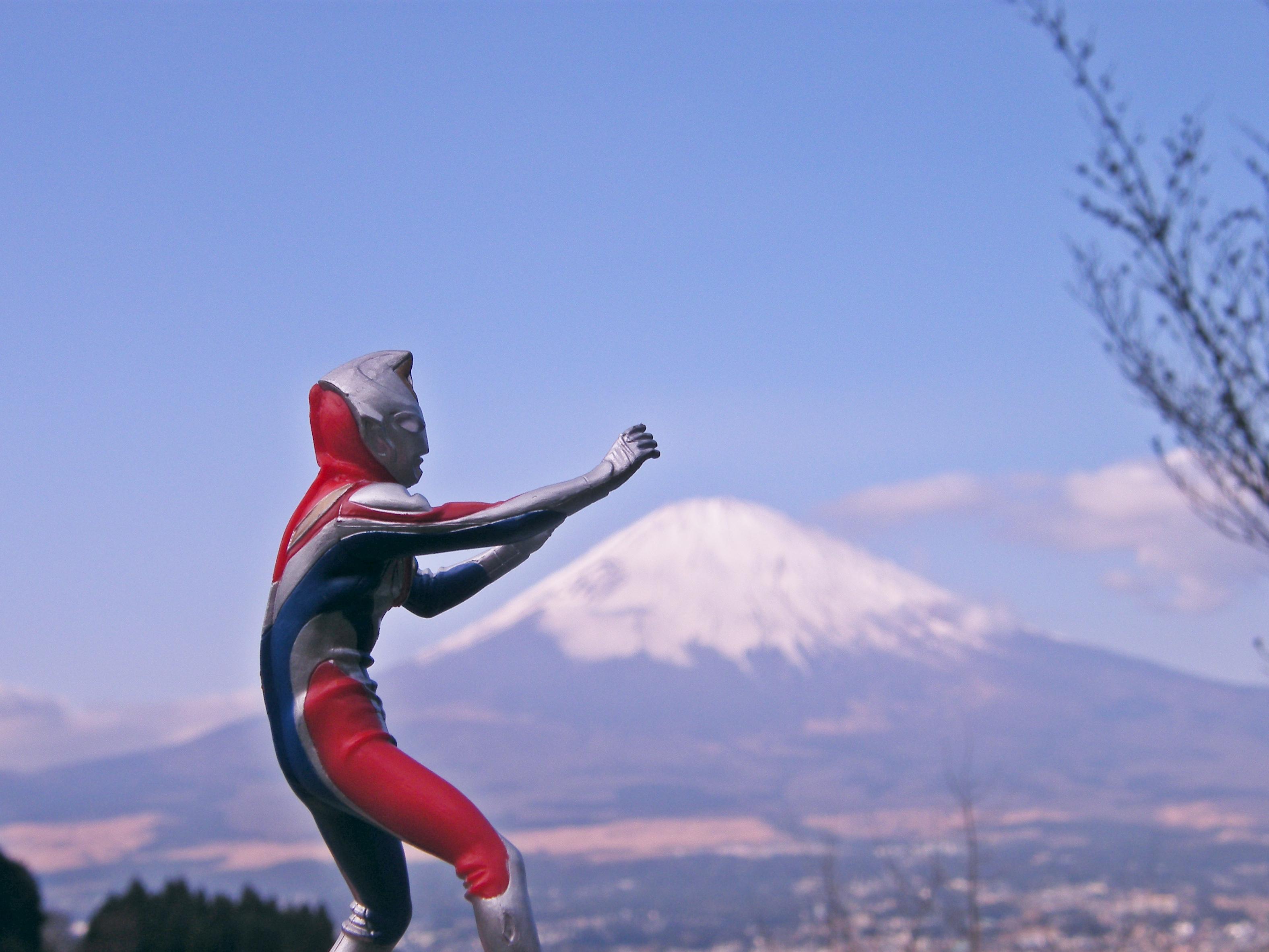 ウルトラマン&富士山