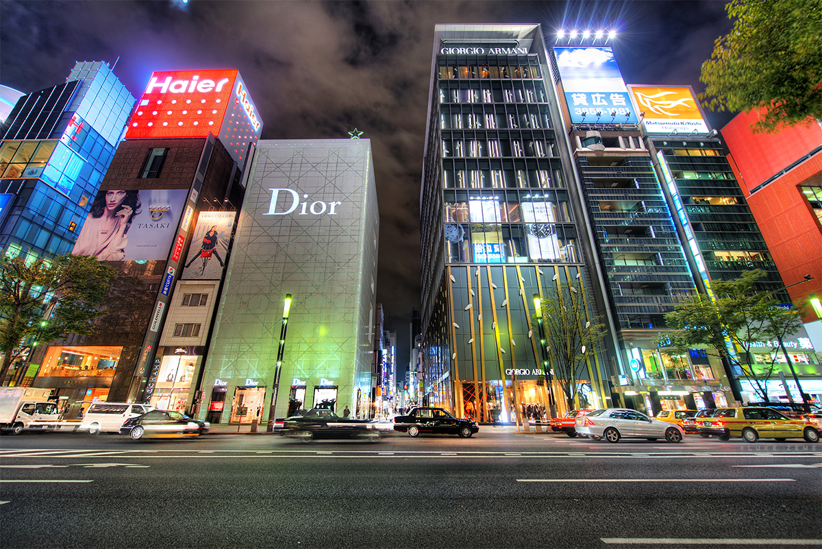 Ginza, Tokyo Japan