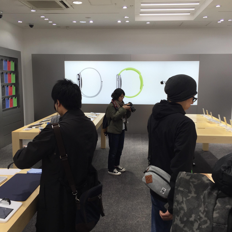 ソフトバンク表参道店(店内)