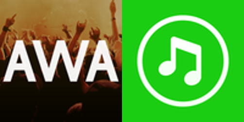 AWA、LINE MUSIC